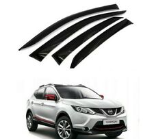 FITS FOR 2014-2019 NISSAN ROGUE SPORT SMOKE WINDOW VISOR WEATHER RAIN GUARD