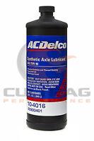 Genuine GM ACDelco 75W-90 Synthetic Axle Gear Oil 32oz Quart 88900401