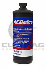 Genuine GM ACDelco 75W-90 Synthetic Axle Gear Oil 32oz Quart 88900401