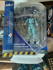 Diamond Select Real Ghostbusters Winston Zeddemore with firehouse part new