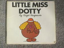 LITTLE MISS DOTTY Vintage original Mr Men /Little Miss Roger Hargreaves 1984 pbk