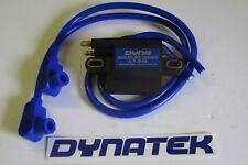 Yamaha TDR250 Dyna haute performance Mini bobine allumage,& Taylor conduit blue