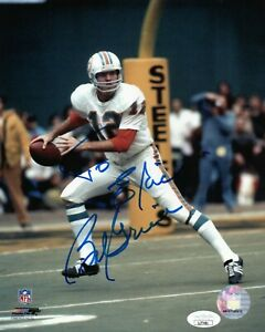 BOB GRIESE SINGLE SIGNED 8X10 PHOTO JSA COA AUTO AUTOGRAPH MIAMI DOLPHINS HOF