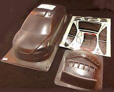 RC 1 10 coche 190mm Sin Pintar transparente Carrocería Ford Focus Se Adapta TAMIYA YOKOMO Hpi