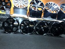 "Ex Display 18"" Audi RS3 Style Gloss Black Alloy Wheels - Audi A3 + more"