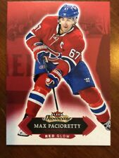16-17 UD Fleer Showcase Red Glow #30 Max Pacioretty