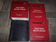 1994 Ford F150 F250 F350 F450 Super Duty F-Series Truck Parts Catalog Manual Set