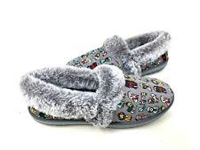 Skechers Women's Too Cozy Winter Wags Fuzzy Slippers Gray #33348 Size:5.5 145H