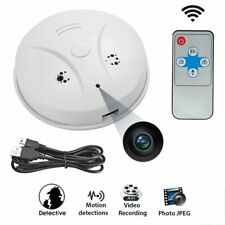 SPY Camera Hidden Smoke Detector Motion Detection Nanny Cam DVR HD 1080P