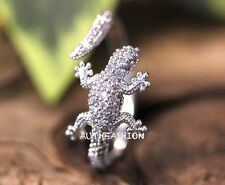 Adjustable Lizard Ring Animal Unique Funny Ring Jewelry Free Size gift idea