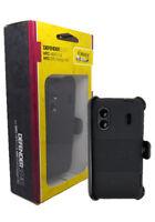 OtterBox Defender HTC EVO Design 4G or Hero S Case w/Holster Belt Clip - Black
