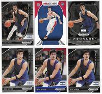 2020-21 Prizm Draft NBA Hoops Deni Avdija Rookie Lot Of 6 W/ Red White Blue SP