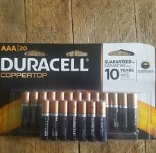 AWESOME DEAL (20 Pack) Duracell AAA. Alkaline Batteries (Exp 2025) wont last.