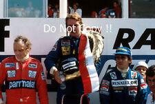 Keke Rosberg Williams FW08 Winner Swiss Grand Prix 1982 Photograph 4