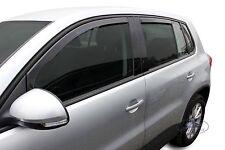 Wind deflectors 4pc TINTED HEKO for VW  TIGUAN  5 door 2007-2015