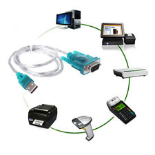 USB to RS232 Serial Port 9 Pin DB9 Cable Serial COM Port Adapter Konverter