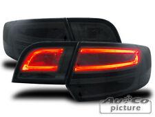 Coppia fari fanali posteriori LED TUNING AUDI A3/S3 Sportback 8P/8PA 04-08 neri