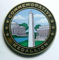National Mall And Memorial Parks Commemorative Medallion Metal