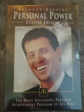 """ANTHONY ROBBINS """"PERSONAL POWER"""" - CLASSIC EDITION 7 DAY AUDIO CD Set NEW!"""