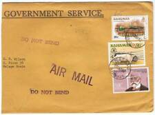 Bahamas. Sobre Government Service circulado 1982