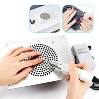 4000RPM Nail Dust Collector Desktop Built in Machine Suction Vacuum Fan Cleaner