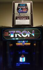 Tron tournament standup cutout with entry pad - Extremely Rare - Pa Exclusive!