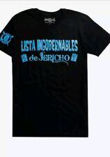 Brand New CHRIS JERICHO LISTA INGOBERNABLES DE JERICHO T-SHIRT Y2J NJPW WWE XL