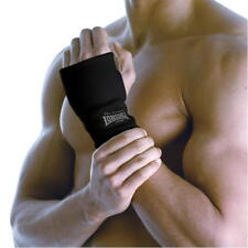 Lonsdale Black Woven Wrist Support Gym Fitness Workout  Size: Large