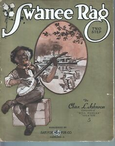 Swanee Rag 1912 Large Format Sheet Music