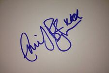 EMILY BARRINGTON SIGNED 6X4 WHITE CARD TV AUTOGRAPH HUMANS & 24 LIVE ANOTHER DAY