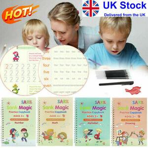 Magic Handwriting Copybook Reused Groove Practice Calligraphy Books for Kids UK