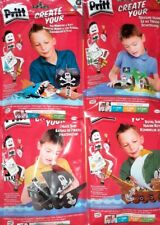 Pritt Creates - Set Of 4! Make Your Own.. Complete Sets. 3d models bnwt gift