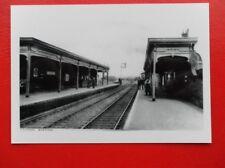 PHOTO  GER CLAYDON RAILWAY STATION Suffolk on the main line north of Ipswich.