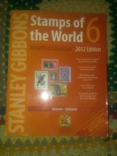 Stanley Gibbons Stamps of the World 6 2012 Edition Catalogue