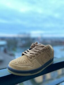 Nike Sb Wheat Dunks In Hand Ready To Ship Size 9.5✅