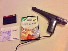 Laser Ghost And Light Gun Phaser - Sega Master System - Read description