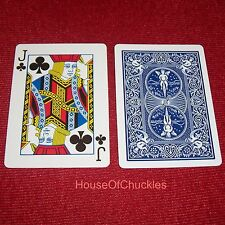 One Way Forcing Card Deck, Jack Of Clubs, Blue Bicycle, Magic Trick, 1 Force