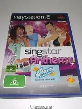 Singstar Anthems PS2 PAL *Complete*
