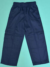 NEW school uniform trousers double knee pants Navy size 5,6,7,8,10,12,14,16