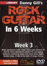 Lick Library Danny Gill's Rock Guitarra En 6 Semanas aprender a jugar Angus Young Dvd 3