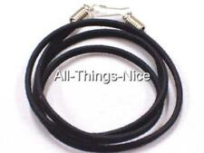 "VELVET 18"" Necklace FLAT Black Strings Fashion Jewellery Pendant Cord Joblot 20"