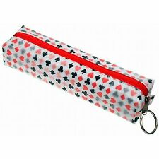 Lenticular Pattern-Changing Poker Playing Card Suit Pencil Case #R-014-GLOBO#