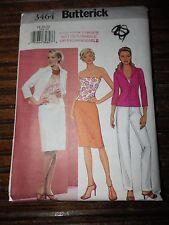 3464 Butterick Misses/MP Shirt Bustier Skirt Pants Pattern Sz 18-20-22 Uncut