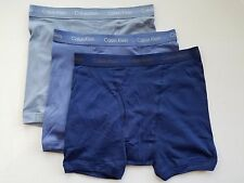 Calvin Klein Boxer Briefs - Large - Blue three shades - 3 Briefs