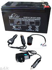 BATTERY PACK KIT, CHARGER, BATTERY, CAMPING, PHONE CHARGE BATTERY KIT, 12V 7AH