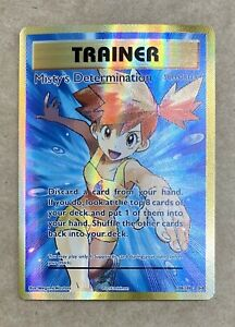 Pokemon XY Evolutions Mistys Determination Full Art Ultra Rare Card