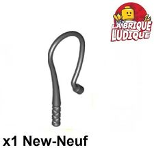 1 x LEGO 88704 Minifigure Fouet noir, black Whip Bent Flexible NEUF NEW