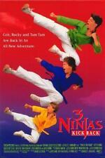 "3 NINJAS KICK BACK 27""x40"" Original Movie Poster One Sheet 1994 Victor Wong"