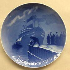 """Vintage Bing & Grondahl Plate, """"Jule After 1917�"""
