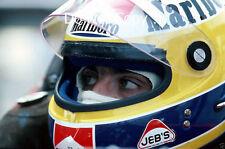 Michele Alboreto Ferrari f1 Ritratto Fotografia 1984